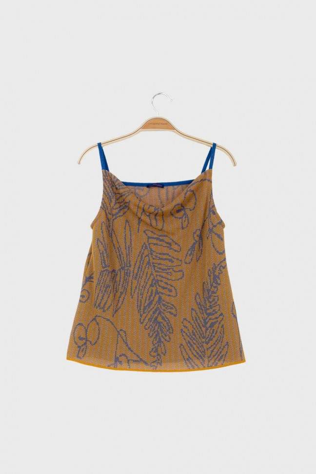 Cami top SAVANNAH Ochre