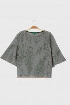 Butterfly tshirt SAVANNAH Green