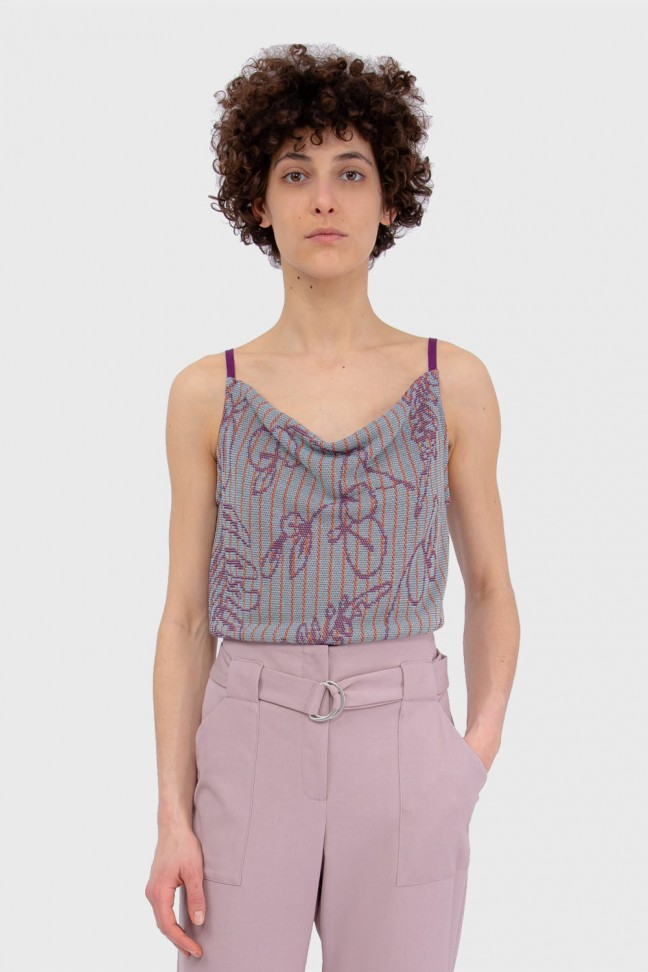 Cami top SAVANNAH Purple