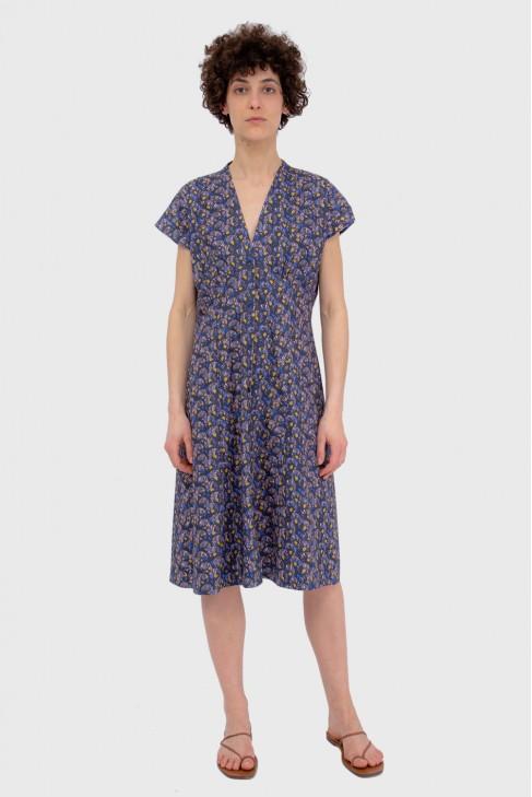 Dress ABANICO Blue
