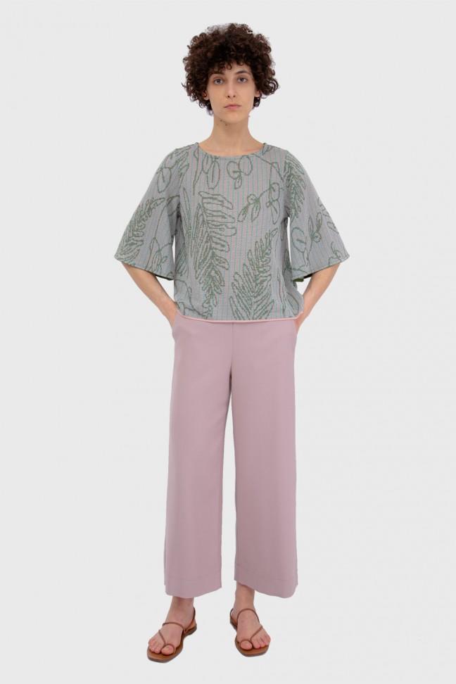 Cropped pants LODGE Pink