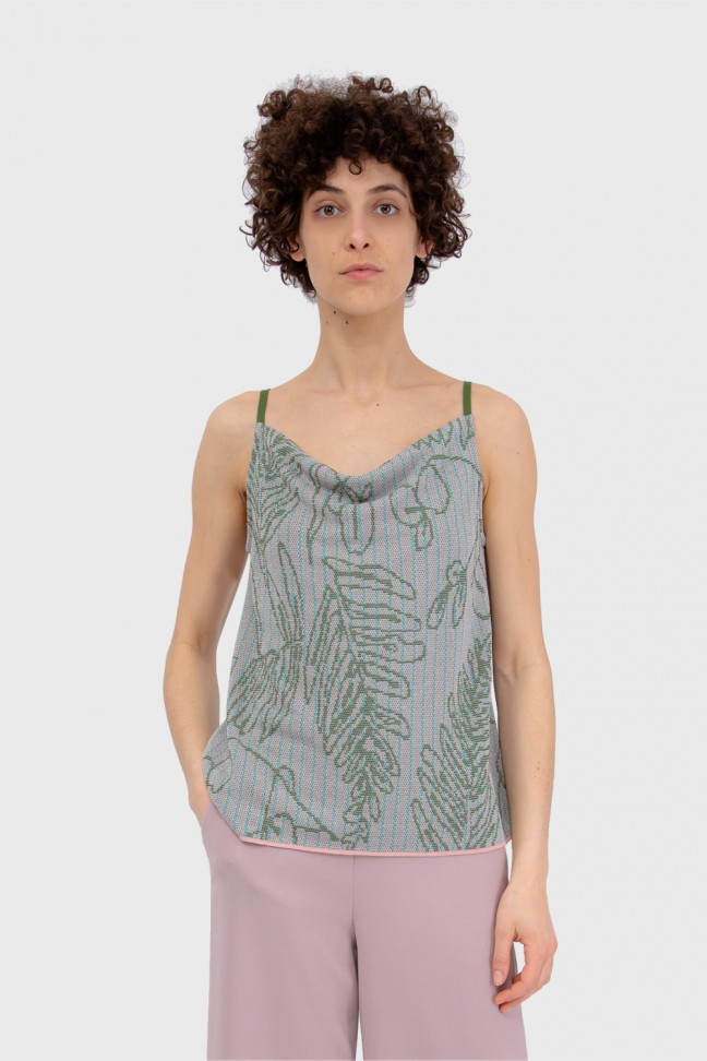 Cami top SAVANNAH Green