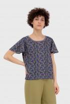 Tshirt papillon ABANICO Bleu