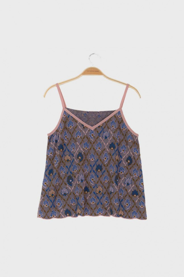 Cami top AWAY Blue