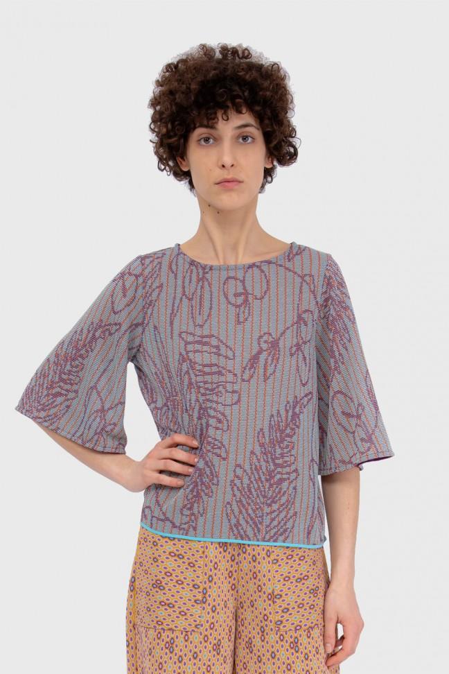 Tshirt Papillon SAVANNAH Violet
