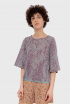 Butterfly tshirt SAVANNAH Purple