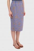Skirt KIMONO Blue