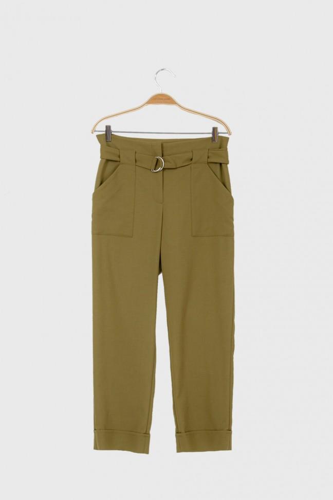 Tied pants LODGE Khaki