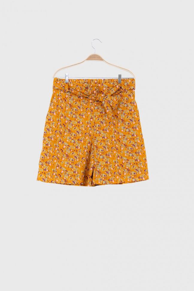 Shorts ABANICO Ochre