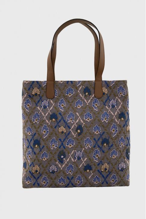 Shopping Bag AWAY blue