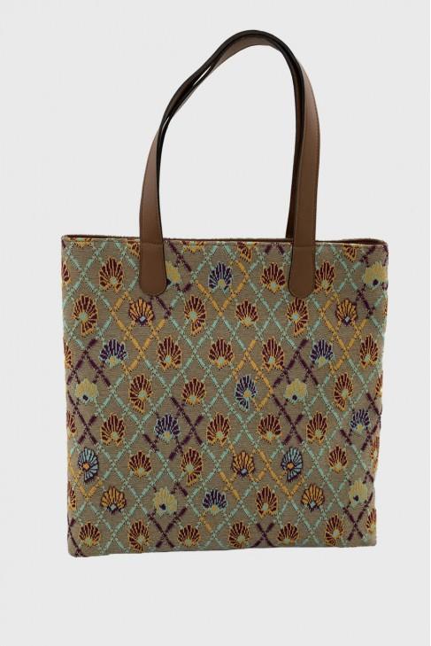 Shopping Bag AWAY Ochre