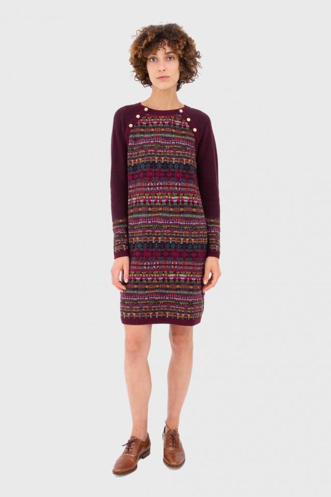 Dress SPELL burgundy