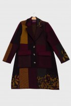 Coat SHELTER Burgundy