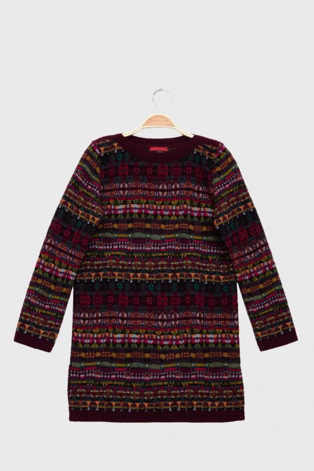 Sweater SPELL burgundy