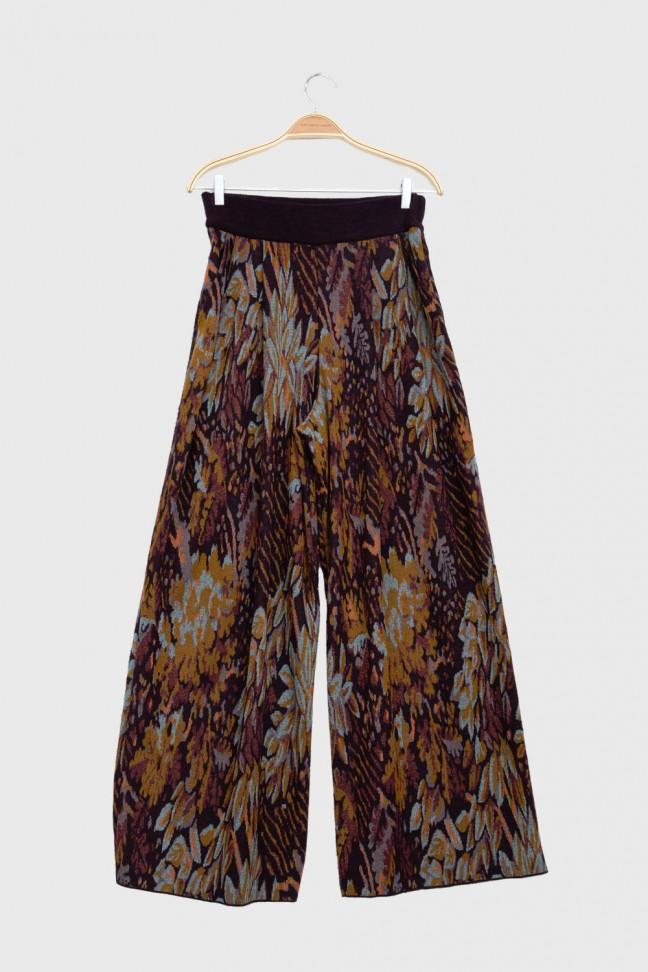 Pants FOLIAGE Burgundy