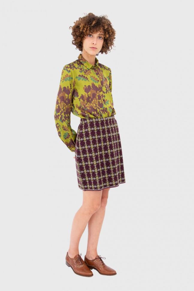 Skirt ERISKAY burgundy