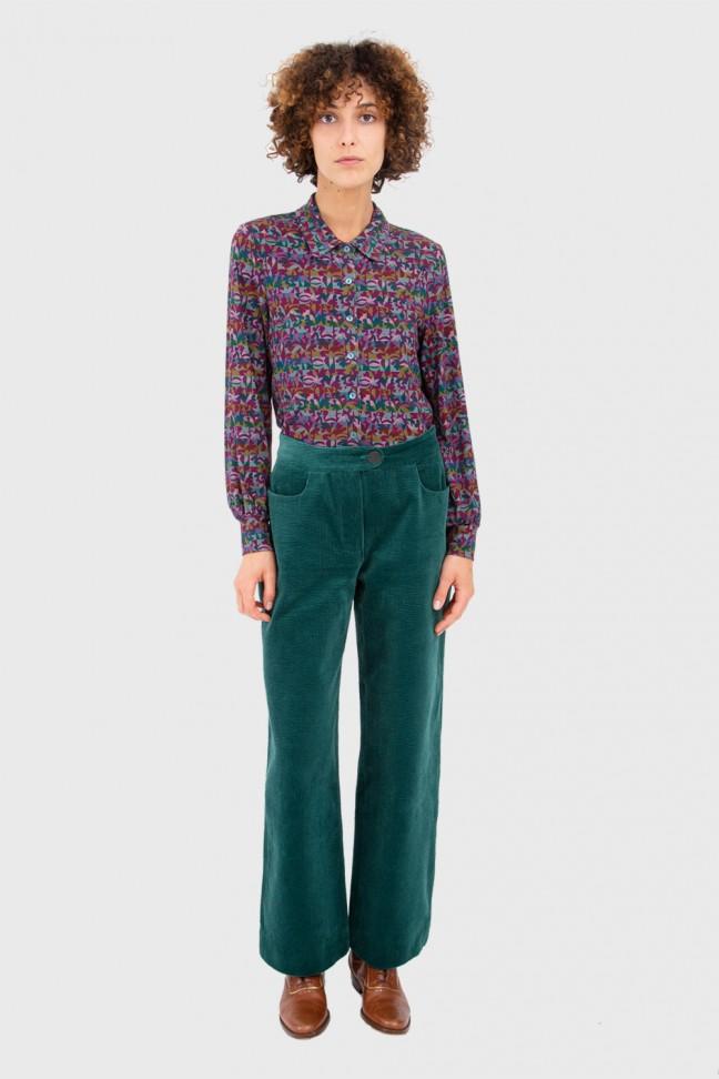 Pantalon Large TIM Pétrole