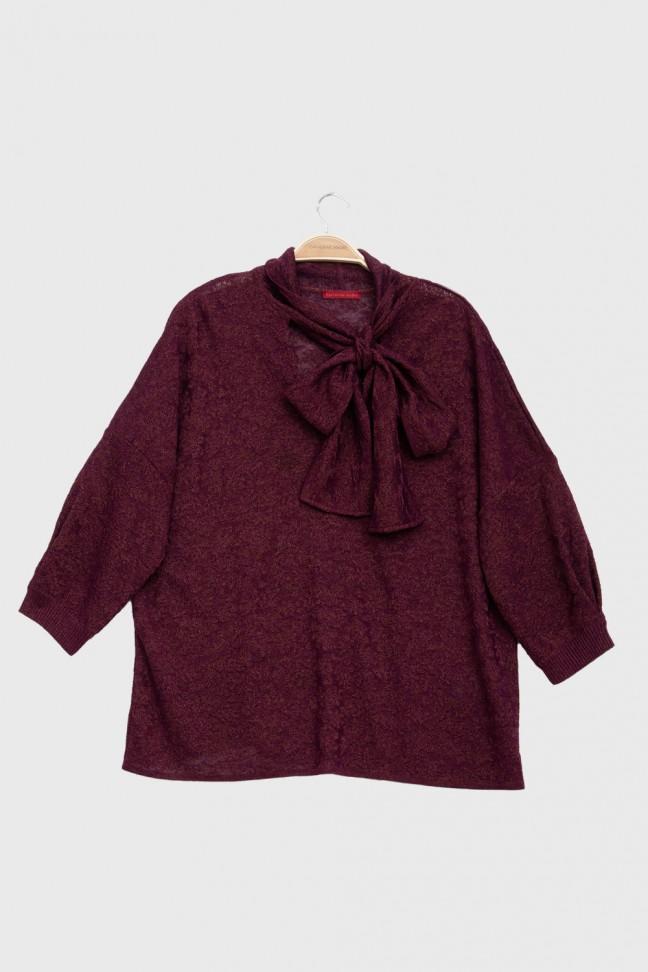 Sweater GLAZE burgundy