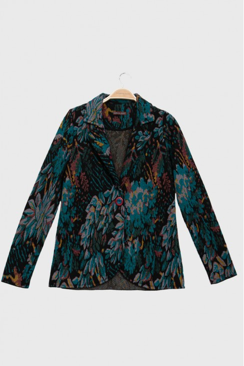Jacket FOLIAGE petrol