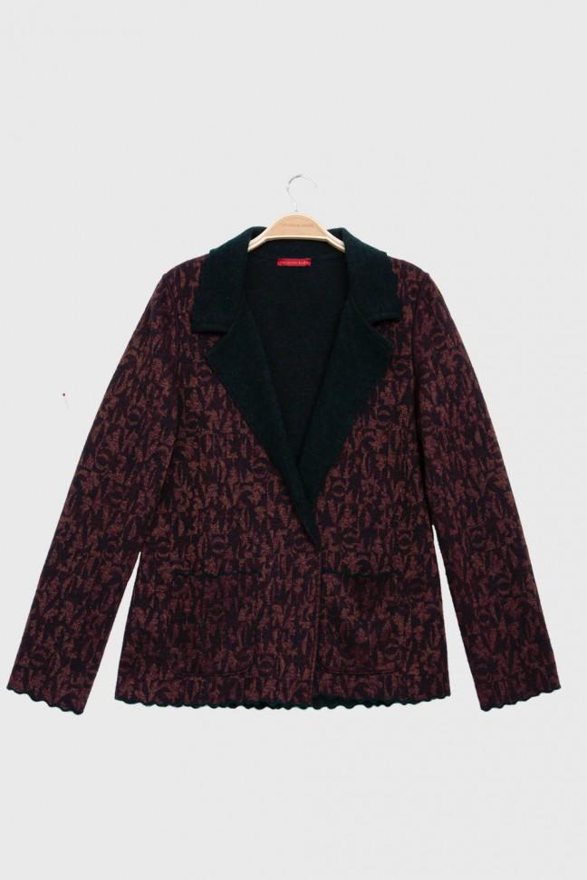 Jacket HARVEST Burgundy