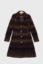 Coat INISHMORE Burgundy