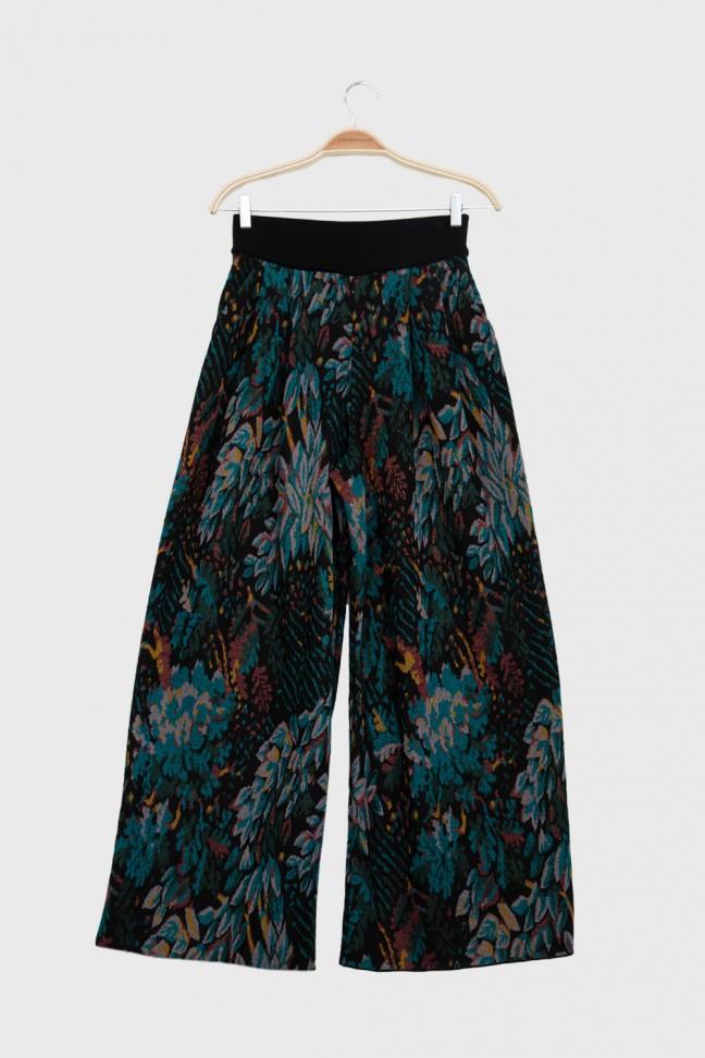 Pantalon FOLIAGE Pétrole