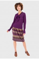 Skirt DEDALE Burgundy