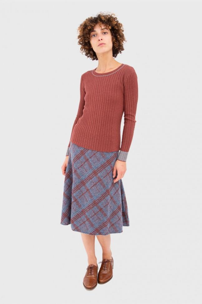 Skirt MAUD Blue