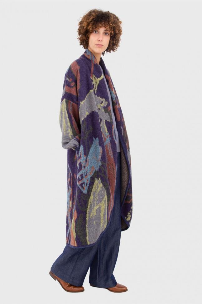 Open coat ELLIOTT Blue