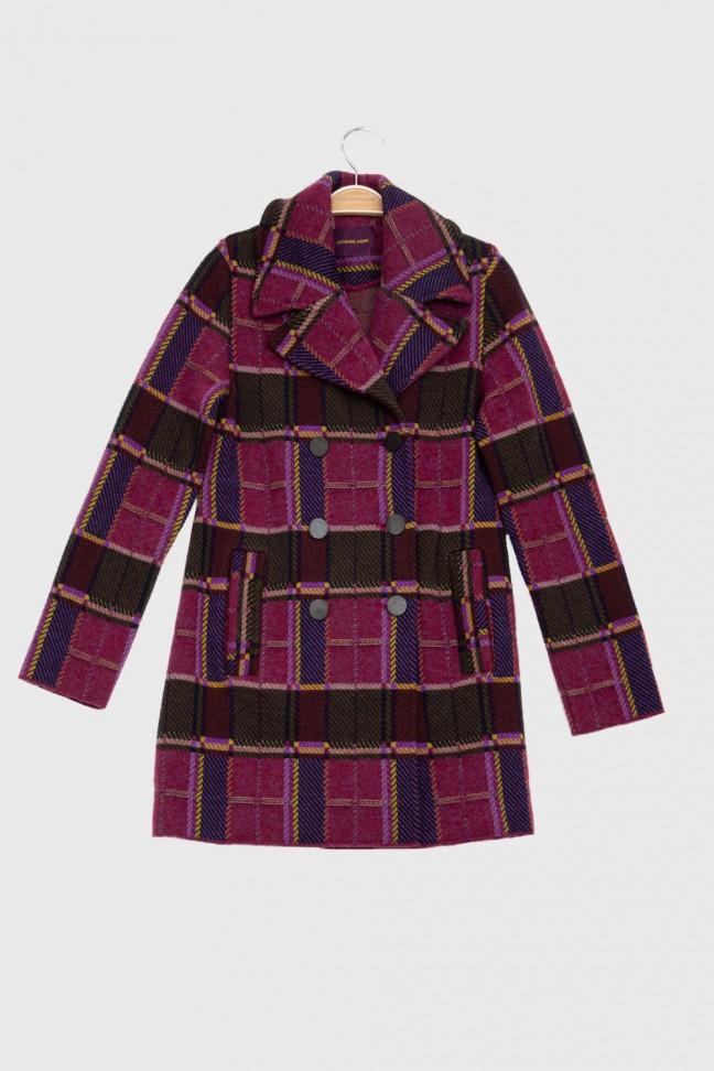 Reefer coat SNOB Pink