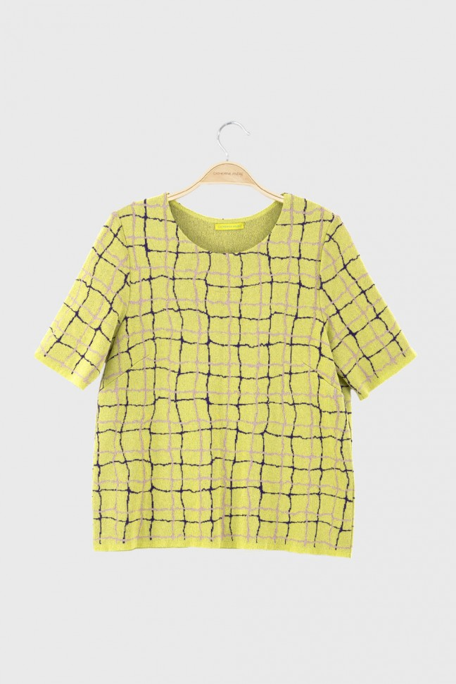 Tshirt POOL Yellow