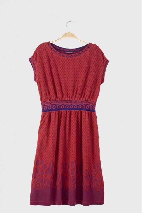 Dress HACIENDA Red