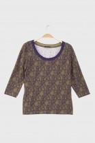 3/4 Tshirt PATIO Purple