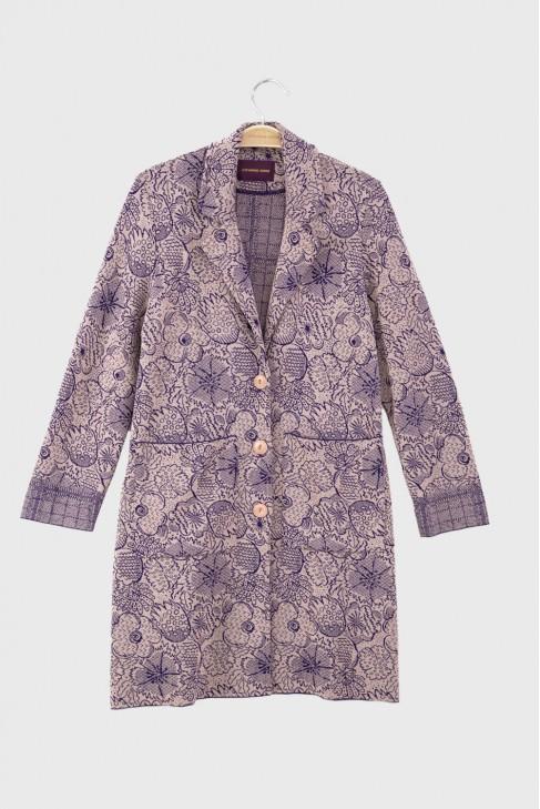 Coat SPRING Purple