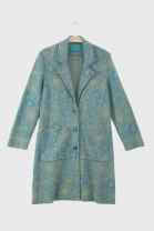 Coat SPRING Aqua