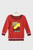 Sweater SUNRISE Red
