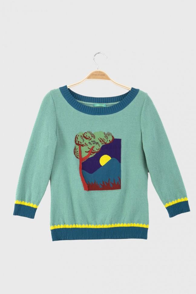 Sweater SUNRISE Aqua