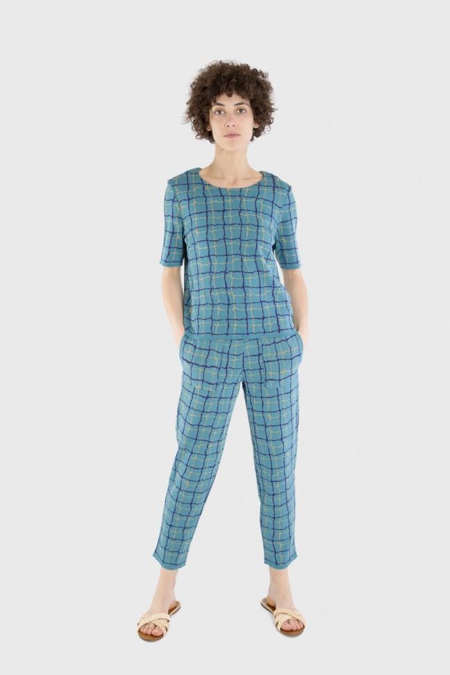 Pantalon POOL Bleu
