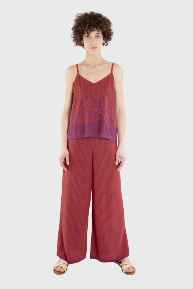 Pantalon HACIENDA Rouge