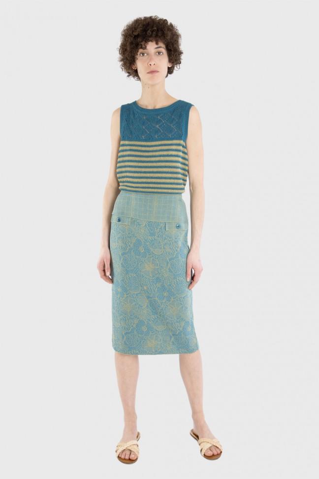 Skirt SPRING Aqua