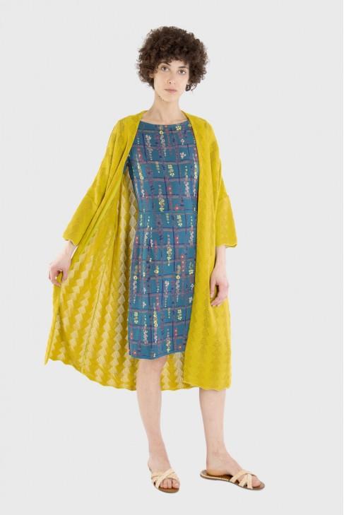 Open coat MAGIC Yellow