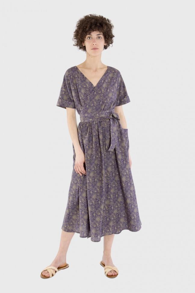 Robe PATIO Violet