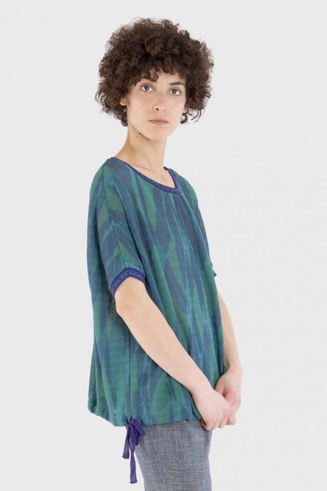 Tshirt LUCINDA Bleu