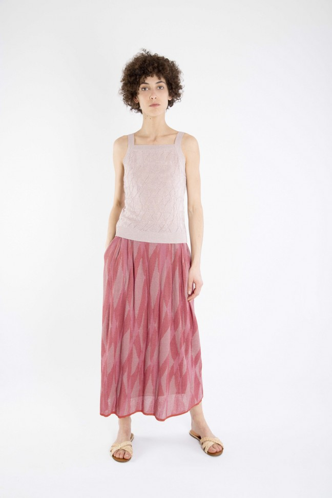 Long skirt LUCINDA Pink