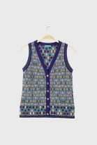 Buttonned top PIAZZA Blue