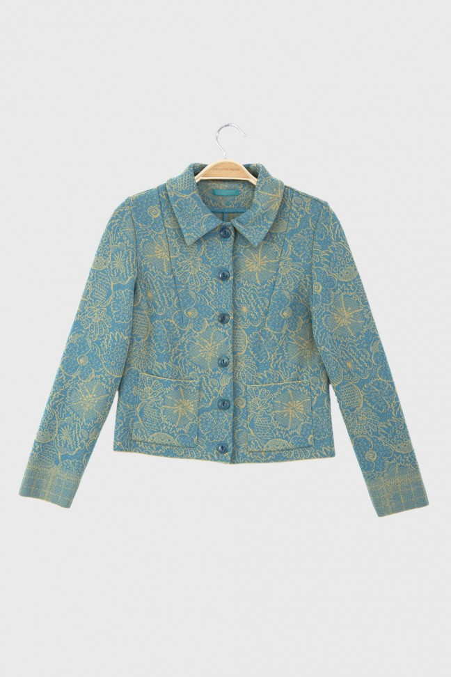 Jacket SPRING Aqua
