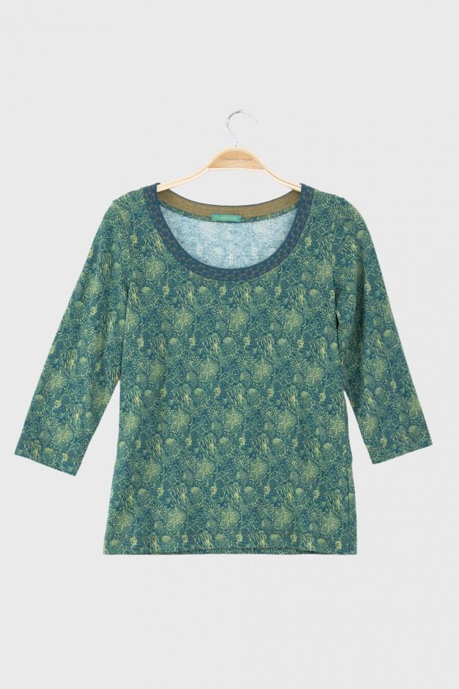 3/4 Tshirt PATIO Aqua