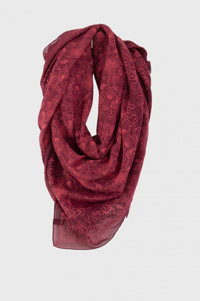 Scarf PATIO Red