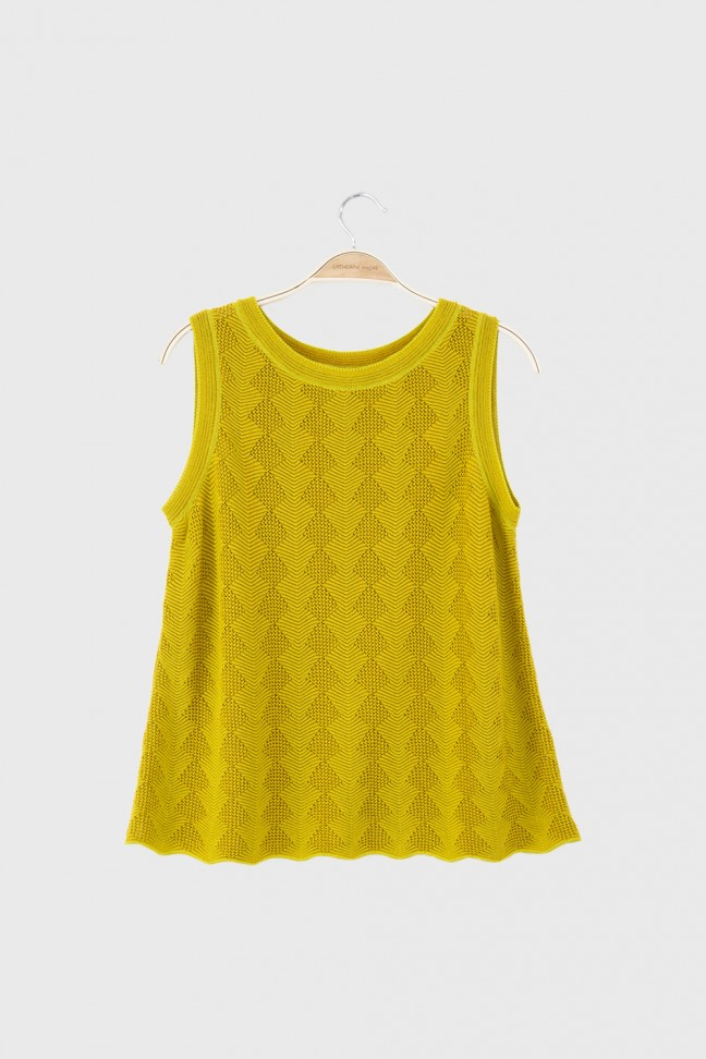 Tank top MAGIC Yellow