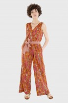 Jumpsuit PERGOLA Red